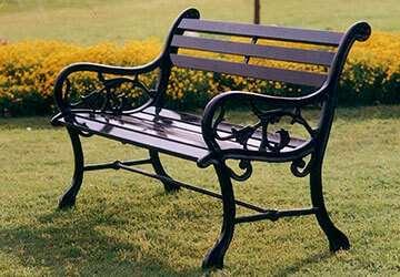 Super Garden Bench India Garden Outdoor Furniture Cast Iron Bralicious Painted Fabric Chair Ideas Braliciousco